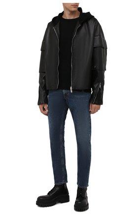 Мужские джинсы DIESEL темно-синего цвета, арт. A00879/069VX | Фото 2