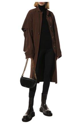 Женские кожаные ботинки MARSELL темно-коричневого цвета, арт. MW6223/PELLE VITELL0 | Фото 2