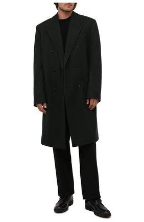 Мужские кожаные монки TOD'S черного цвета, арт. XXM04E00TN0LYG | Фото 2