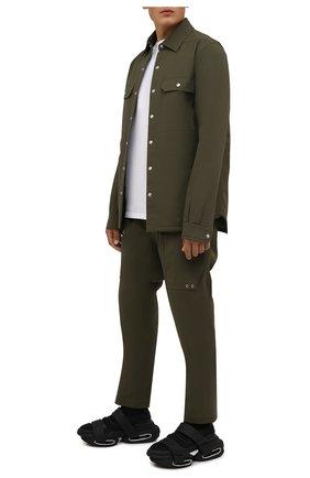 Мужские кроссовки b-bold BALMAIN черного цвета, арт. WM1VH229/TLKP   Фото 2 (Материал внешний: Текстиль; Материал внутренний: Натуральная кожа, Текстиль; Подошва: Массивная; Стили: Гранж)