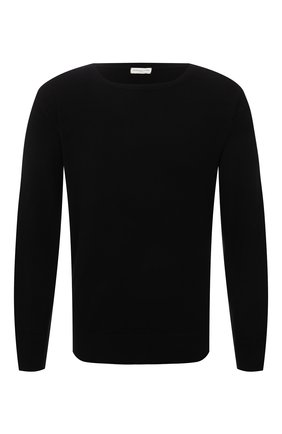 Мужской кашемировый свитер DRIES VAN NOTEN черного цвета, арт. 212-021206-3701 | Фото 1