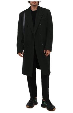Мужские кроссовки rhyton GUCCI черного цвета, арт. 660939/2SH10 | Фото 2