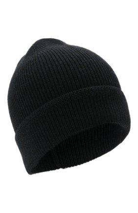 Мужская кашемировая шапка TOM FORD темно-синего цвета, арт. BYK8H/TFK800   Фото 1