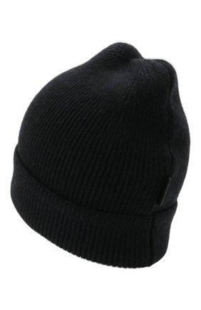 Мужская кашемировая шапка TOM FORD темно-синего цвета, арт. BYK8H/TFK800   Фото 2