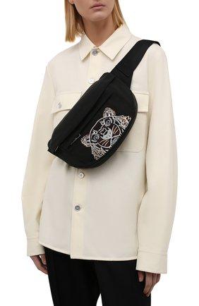 Женская поясная сумка kampus KENZO черного цвета, арт. FA65SF305F20 | Фото 2