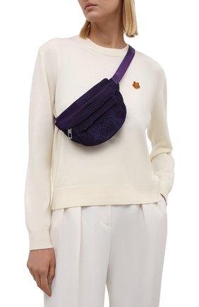 Женская поясная сумка kampus KENZO фиолетового цвета, арт. FA65SF307F20 | Фото 2