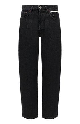 Женские джинсы FORTE DEI MARMI COUTURE темно-серого цвета, арт. 21WF1056 | Фото 1