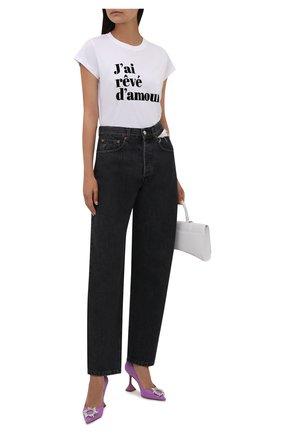 Женские джинсы FORTE DEI MARMI COUTURE темно-серого цвета, арт. 21WF1056 | Фото 2