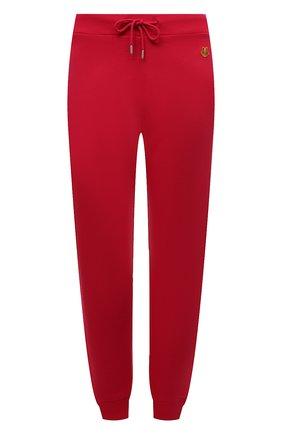 Женские хлопковые джоггеры KENZO розового цвета, арт. FB52PA7224ML   Фото 1 (Материал внешний: Хлопок; Женское Кросс-КТ: Джоггеры - брюки, Брюки-спорт; Силуэт Ж (брюки и джинсы): Джоггеры; Стили: Спорт-шик; Длина (брюки, джинсы): Стандартные)