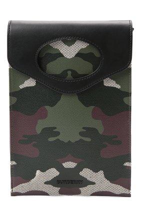Мужская сумка pocket BURBERRY разноцветного цвета, арт. 8042258 | Фото 1 (Материал: Текстиль; Ремень/цепочка: На ремешке)