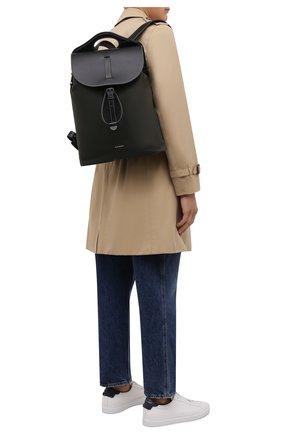 Мужской комбинированный рюкзак pocket BURBERRY хаки цвета, арт. 8042019   Фото 2