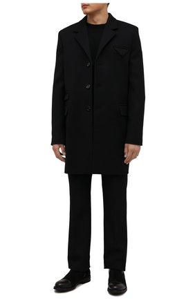 Мужские замшевые сапоги PANTANETTI черного цвета, арт. 14947A/SC0TLAND-MANIT0BA-TUD0R   Фото 2