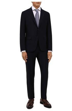 Мужская хлопковая сорочка VAN LAACK белого цвета, арт. RIVARA-TFN/160012 | Фото 2 (Материал внешний: Хлопок; Случай: Формальный; Рубашки М: Regular Fit; Принт: Однотонные; Воротник: Акула; Рукава: Длинные; Манжеты: На пуговицах; Стили: Классический; Длина (для топов): Стандартные)
