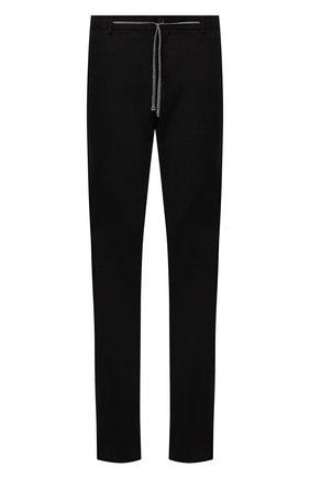 Мужские шерстяные брюки CANALI темно-коричневого цвета, арт. V1659/AR03474   Фото 1