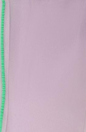 Женские колготки DRIES VAN NOTEN сиреневого цвета, арт. 212-011903-042 | Фото 2 (Материал внешний: Синтетический материал)