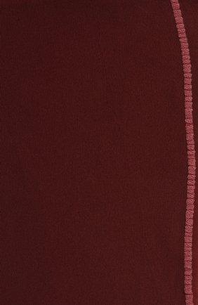 Женские колготки DRIES VAN NOTEN бордового цвета, арт. 212-011903-042 | Фото 2 (Материал внешний: Синтетический материал)