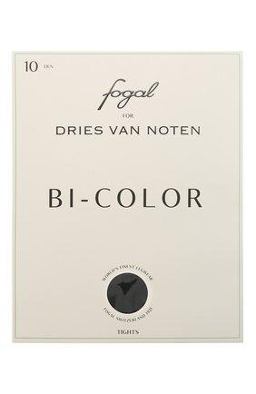 Женские колготки DRIES VAN NOTEN черного цвета, арт. 212-011903-042 | Фото 1 (Материал внешний: Синтетический материал)