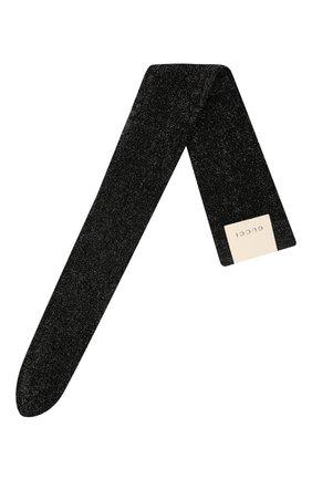 Женские колготки GUCCI черного цвета, арт. 663745/3GACV | Фото 1 (Материал внешний: Вискоза)