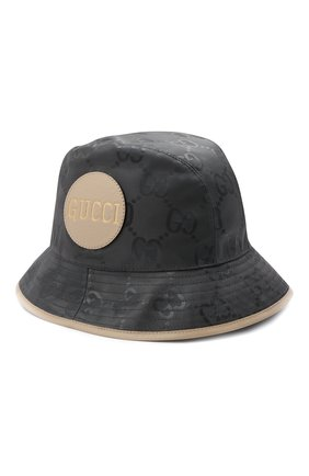 Мужская панама off the grid GUCCI серого цвета, арт. 627115/4HK79 | Фото 1 (Материал: Текстиль, Синтетический материал)
