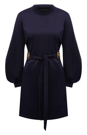 Женское хлопковое платье LANVIN темно-синего цвета, арт. RW-DR0069-J039-A21   Фото 1