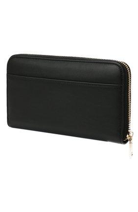 Женские кожаный кошелек DOLCE & GABBANA черного цвета, арт. BI0473/A0049 | Фото 2