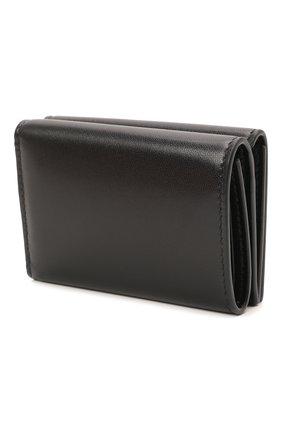 Женские кожаное портмоне BALENCIAGA черного цвета, арт. 664037/12U53 | Фото 2