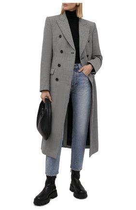 Женские кожаные ботинки PREMIATA черного цвета, арт. M6112M/BUTTERFLY | Фото 2