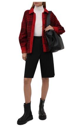 Женские кожаные ботинки PREMIATA черного цвета, арт. M6193/NAPPA+IR0NMAN   Фото 2 (Материал внутренний: Натуральная кожа; Подошва: Платформа; Женское Кросс-КТ: Байкеры-ботинки)