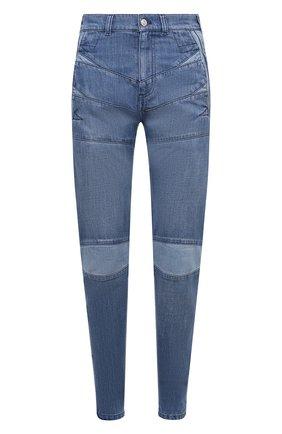 Женские джинсы KENZO синего цвета, арт. FB62DP2989FA   Фото 1