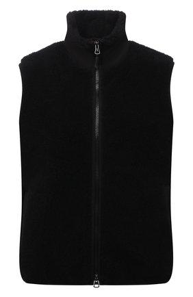 Женский жилет BURBERRY черного цвета, арт. 8040902 | Фото 1