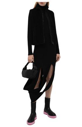 Женский жилет BURBERRY черного цвета, арт. 8040902 | Фото 2