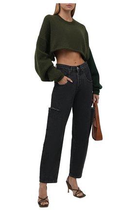 Женские джинсы FORTE DEI MARMI COUTURE темно-серого цвета, арт. 21WF1063 | Фото 2
