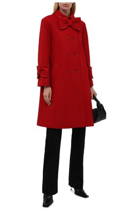 Женское шерстяное пальто VIVETTA красного цвета, арт. 21I V2M0/N022/3018 | Фото 2