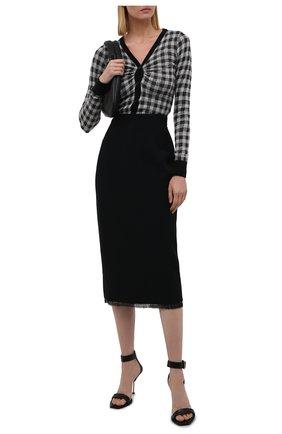 Женский кардиган N21 черного цвета, арт. 21I N2M0/A016/7123   Фото 2