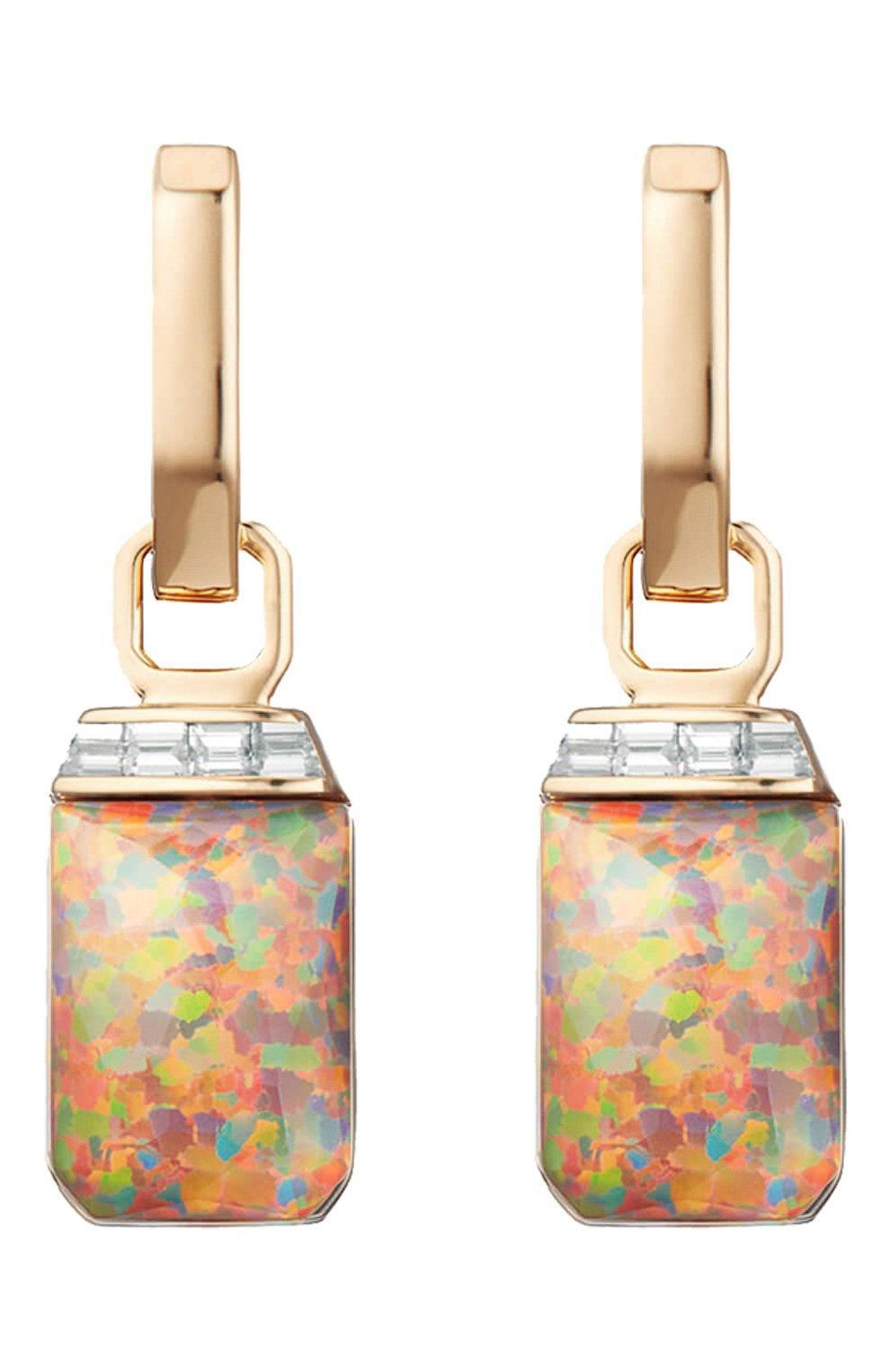 Женские серьги STEPHEN WEBSTER бесцветного цвета, арт. 3022430 | Фото 1