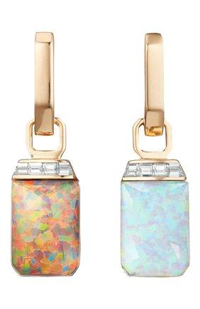 Женские серьги STEPHEN WEBSTER бесцветного цвета, арт. 3022430 | Фото 2