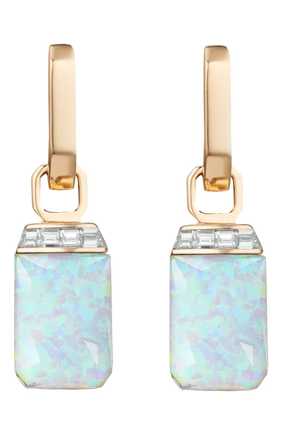Женские серьги STEPHEN WEBSTER бесцветного цвета, арт. 3022430 | Фото 3