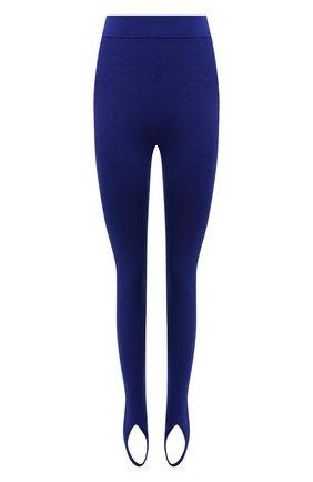 Женские леггинсы TOM FORD синего цвета, арт. PAK042-YAX320 | Фото 1 (Материал внешний: Кашемир, Шерсть; Женское Кросс-КТ: Леггинсы-одежда; Стили: Гламурный; Длина (брюки, джинсы): Стандартные)