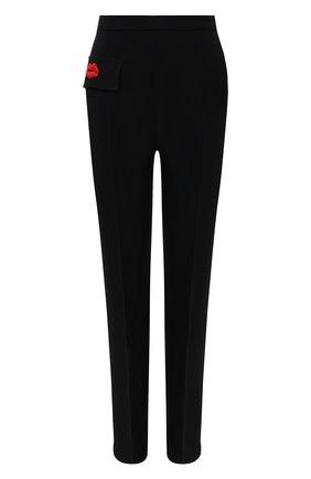 Женские брюки N21 черного цвета, арт. 21I N2M0/B031/5336   Фото 1