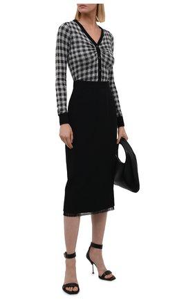 Женская юбка N21 черного цвета, арт. 21I N2M0/C011/5336   Фото 2