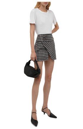 Женская шерстяная юбка N21 серого цвета, арт. 21I N2M0/C112/3026   Фото 2