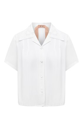 Женская блузка N21 белого цвета, арт. 21I N2M0/G091/5111   Фото 1