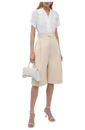 Женская блузка N21 белого цвета, арт. 21I N2M0/G091/5111   Фото 2
