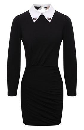 Женское хлопковое платье N21 черного цвета, арт. 21I N2M0/H121/4157   Фото 1