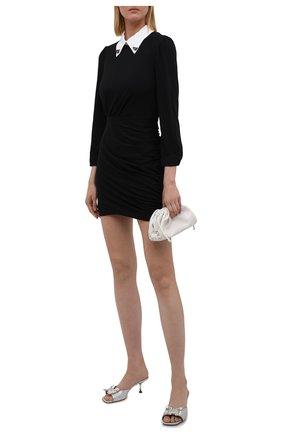 Женское хлопковое платье N21 черного цвета, арт. 21I N2M0/H121/4157   Фото 2