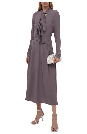 Женское платье N21 серого цвета, арт. 21I N2M0/H171/5111   Фото 2