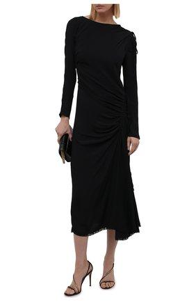 Женское платье N21 черного цвета, арт. 21I N2M0/H191/5111   Фото 2