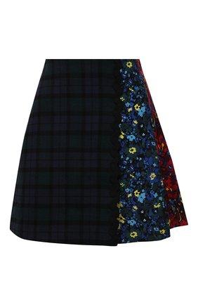 Женская юбка из хлопка и шерсти VIVETTA разноцветного цвета, арт. 21I V2M0/C021/3023 | Фото 1
