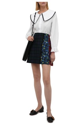 Женская юбка из хлопка и шерсти VIVETTA разноцветного цвета, арт. 21I V2M0/C021/3023 | Фото 2