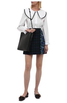 Женская хлопковая рубашка VIVETTA белого цвета, арт. 21I V2M0/G011/0650 | Фото 2